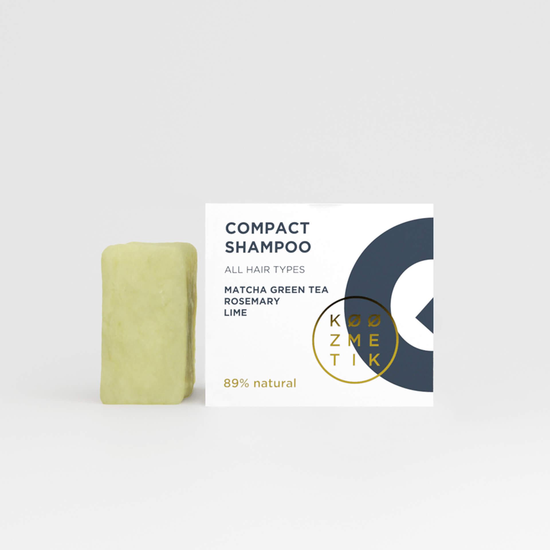 Compact shampoo Q